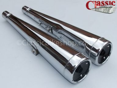 Honda CX500 Silencers Left and Right Handed