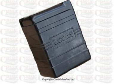 Lucas Front Badge Style Battery Case