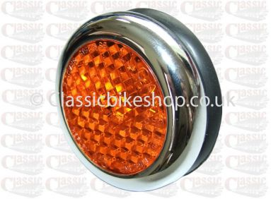 Genuine Lucas Amber Side Reflector