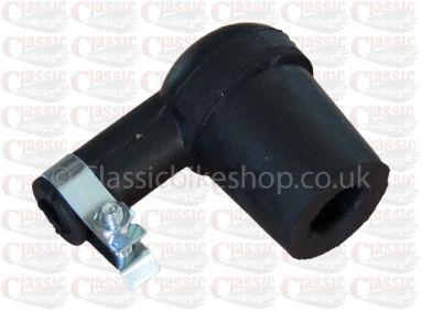 Universal Black Rubber Plug Cap