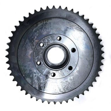 BSA A7 A10 Rear Wheel drum and Sprocket 49T 67-6124