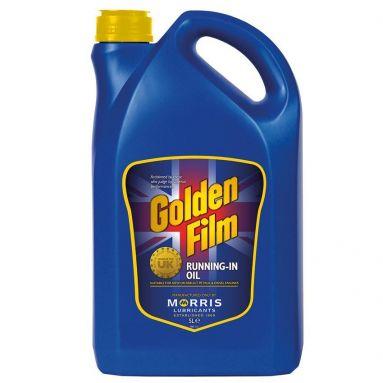 Golden Film Running in Oil