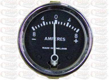 6 Volt Ammeter 1.5/8'' Aperture