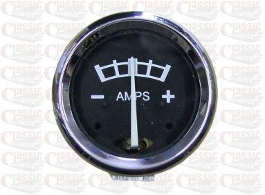 6 Volt Ammeter fits 1.5/8'' Aperture 8-0-8