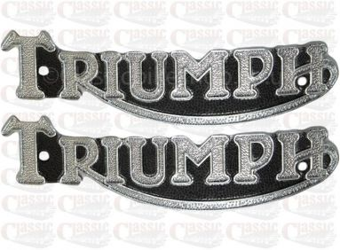 Triumph Tank Badges