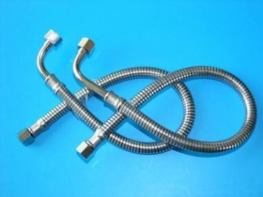 BSA A7 A10 Armoured Oil Feed Pipes