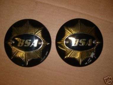 BSA A7 A10 Petrol Tank Badges