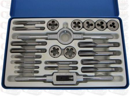 Whitworth tap and die set 23pc