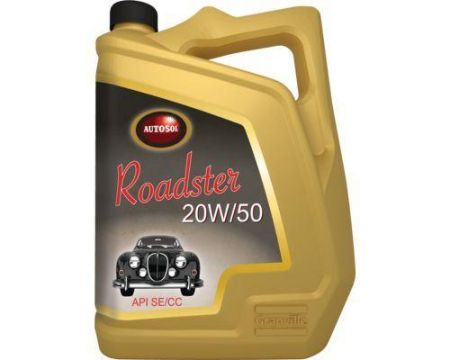Autosol Roadster 20W/50 Engine Oil 5 Litre