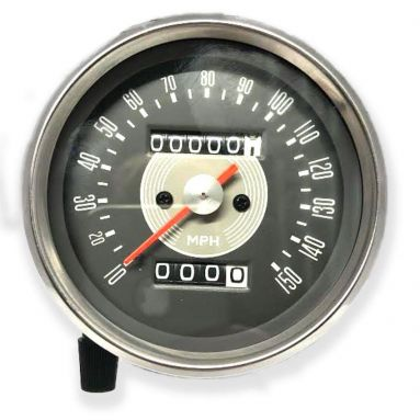 Speedometer Grey Face (MPH) Ratio 1.25 - 1/ 15 - 12