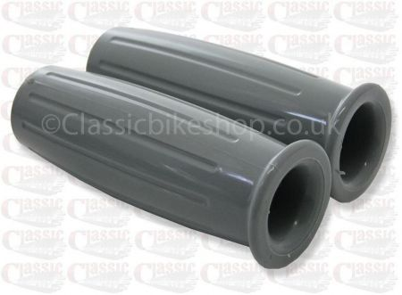 Grey Handlebar Grips 7/8''