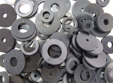 Assorted Rubber Washers (25 Sizes)