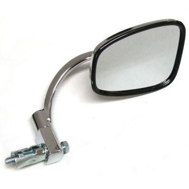 Handlebar End Mirror Chrome Stadium Style