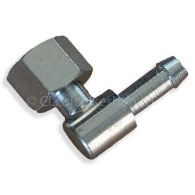 1/4 Gas Thread Nut With Elbow For 1/4 Pipe