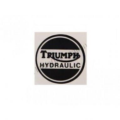 Triumph  Hydraulic Decal For Caliper Cover