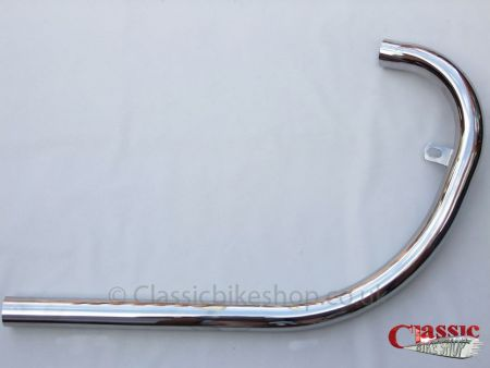 BSA B31 B33 1958- On Swinging Arms Exhaust Pipes