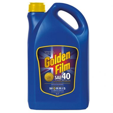 Morris Golden Film SAE 40 Classic Motor Oil 5L