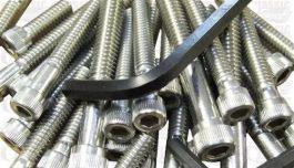 Stainless Steel Allen Screw Kit UNC//BSF Threads WW89218 - Norton Commando
